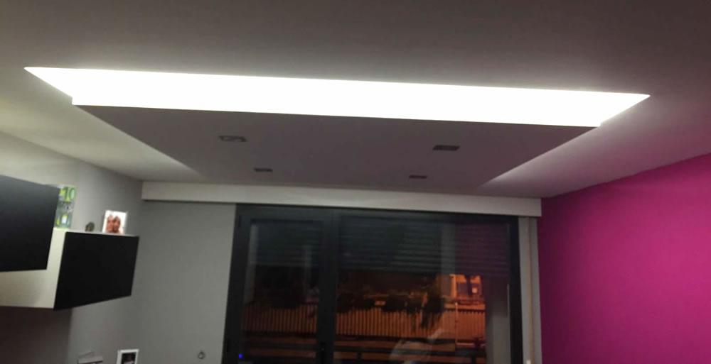 Obras realizadas aislamientos lurgoien isolamenduak - Techos acusticos decorativos ...